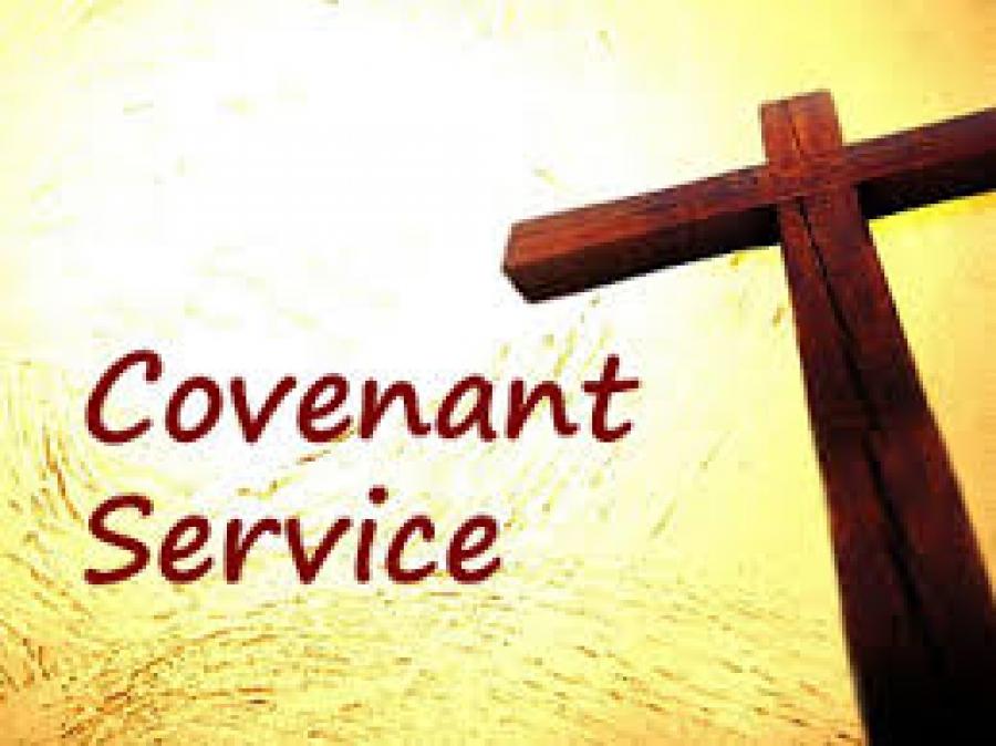 Halmer End Methodist Church - Covenant Service - 10.00 am