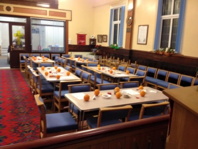 Christingle Preparation