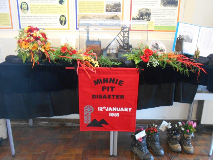 Englesea Brook Flower Festival Minnie Pit Display