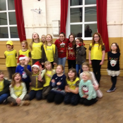 Group photo of the Brownies