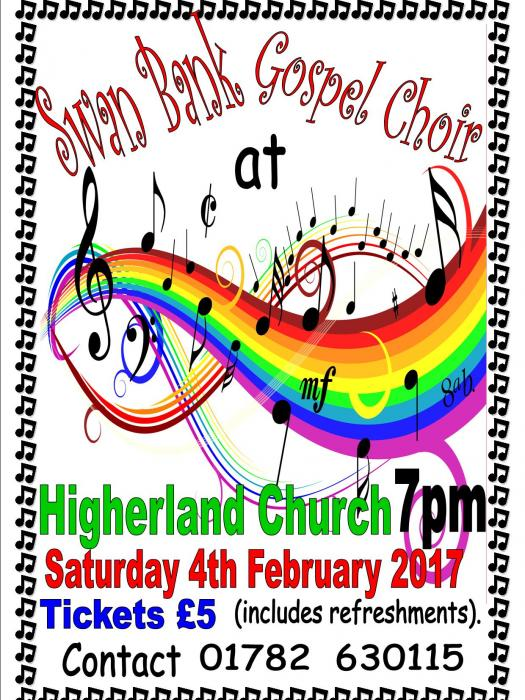 Higherland Swan Bank Gospel Choir_170118