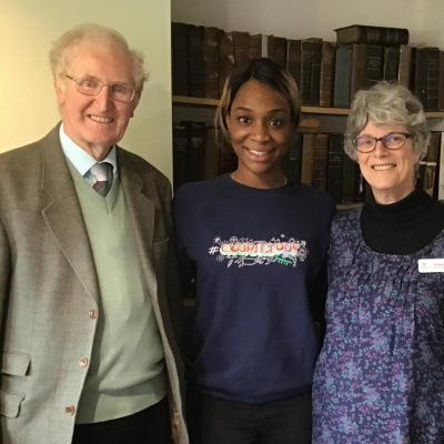 Jasmine Yeboah at Englesea Brook Chapel and Museum_190405
