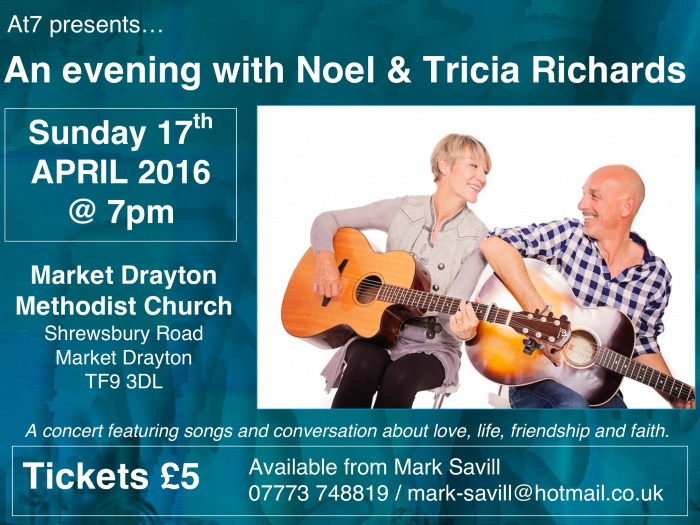 Noel and Tricia Richards Concert_160116