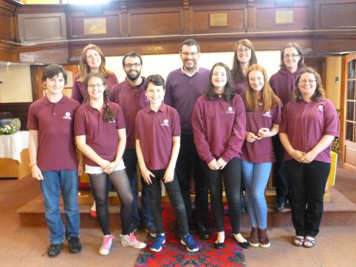 North Shropshire Methodist Youth Choir
