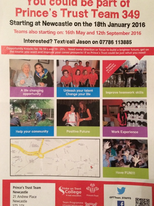 Prince's Trust Team poster