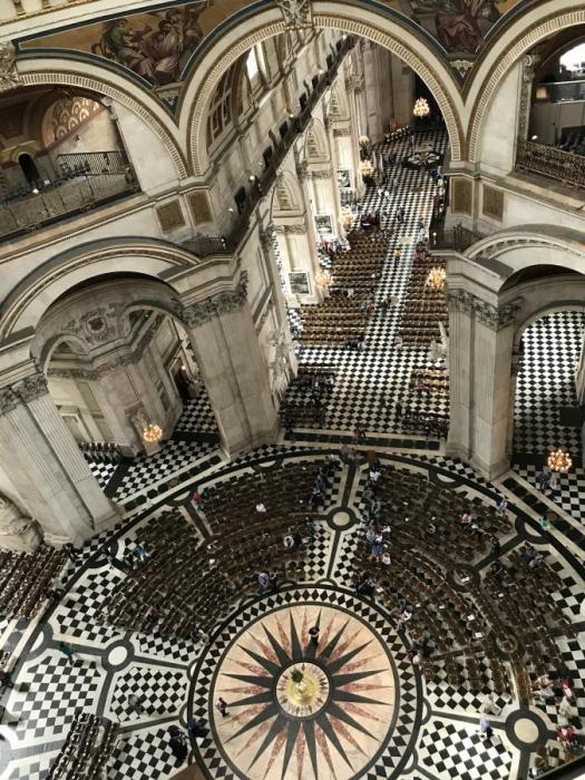 St Paul's Whispering Gallery