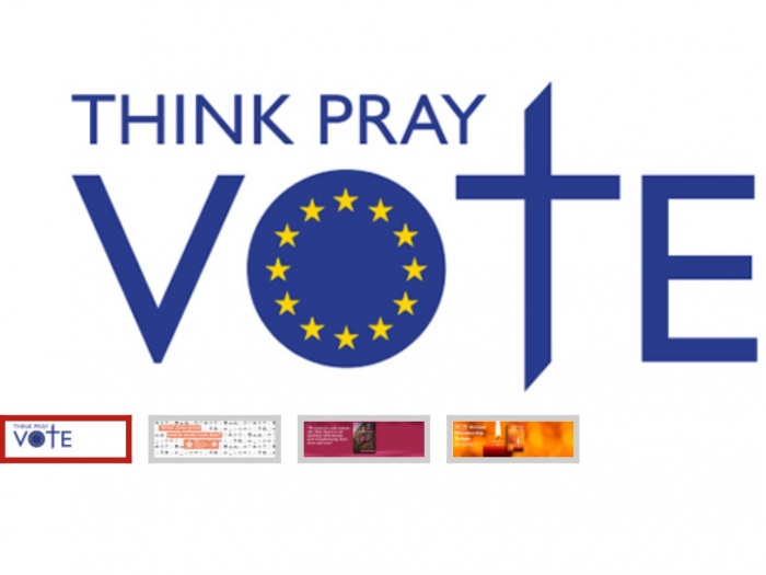think, pray, vote